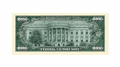 Pack of 10 - Donald Trump 2016 Federal Victory Presidential Dollar Bills 3