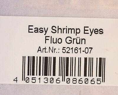 Easy Shrimp Eyes 10 Augenpaare Y Shrimp-Augen GLOW IN THE DARK