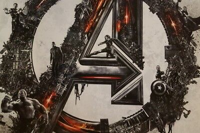 MARVEL STUDIOS AVENGERS: INFINITY WAR  and AGE OF ULTRON IMAX Promo 4 Poster lot 10
