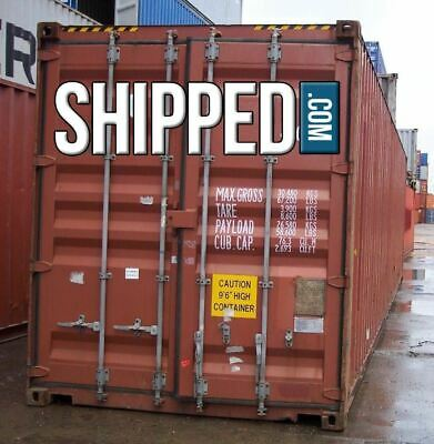 Ann Arbor Shipping Containers - 40Ft Used - Lowest Price In Michigan 4