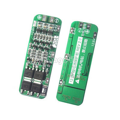 10PCS 3S 20A 12.6V Li-ion Lithium Battery 18650 Cell PCB BMS Protection Board W 4