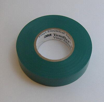 PREMIUM GRADE 3M Temflex Green Vinyl Electrical Tape 3/4