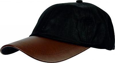 BRAND NEW MEN/'S GREEN WAX AND FLEECE OUTDOOR SHOWERPROOF EAR FLAP CAP