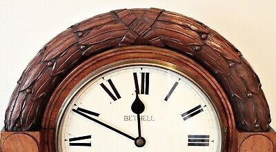 Antique Extra Large Extra Rare English Fusee 'Bethell', Coventry Astral Clock 4