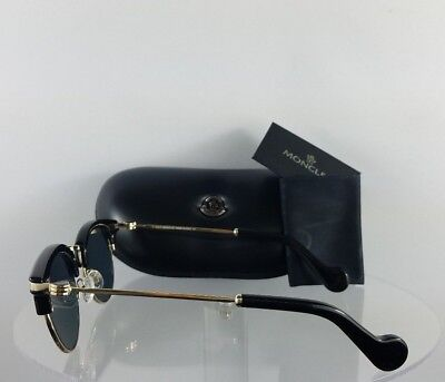 BRAND NEW AUTHENTIC Moncler Sunglasses ML 0035 01A Shiny
