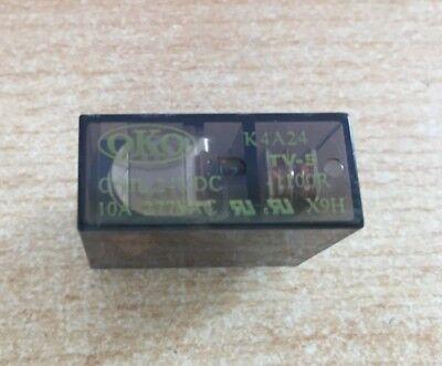 1 x Oko K5A12 Relay 275R DPCO Contact Current Rating 8A Coil Voltage 12V dc