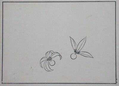 'HANE' HANETSUKI SHUTTLECOCKS - Meiji era Japanese Woodblock Print (Woodcut) 2