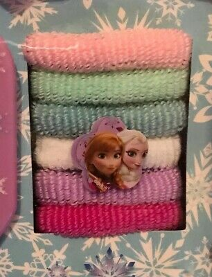 Disney Frozen Kids Hair Accessory Set Mini Backpack Storage for Girls 6