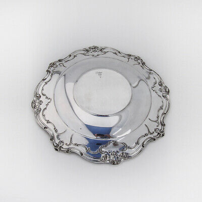 Chantilly Duchess Sandwich Plate Sterling Silver Gorham 2