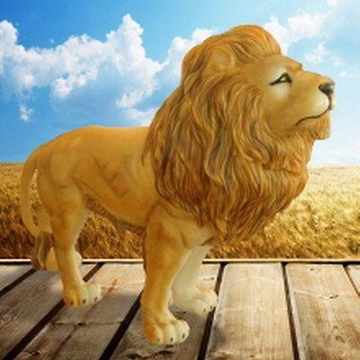 Löwe Figur Lebensgross Groß Garten Skulptur Afrika