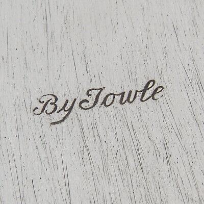 Towle Silver Flutes Sandwich Plate Sterling Silver 1941 No Mono 4