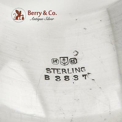 Napkin Ring Sterling Silver Gorham Silversmiths Monogrammed WDVB 3