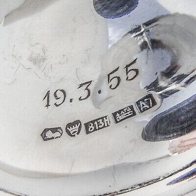 Scroll Rim Trumpet Vase 813 Standard Silver 1954 Finland Mono AS 4