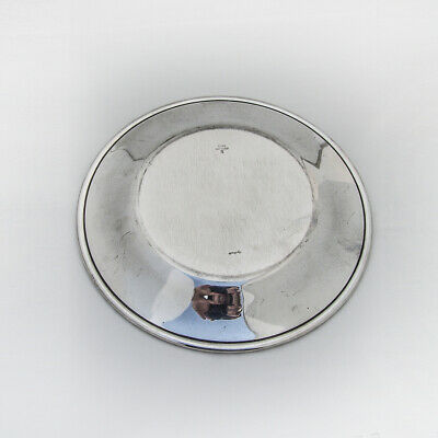 Towle Silver Flutes Sandwich Plate Sterling Silver 1941 No Mono 3