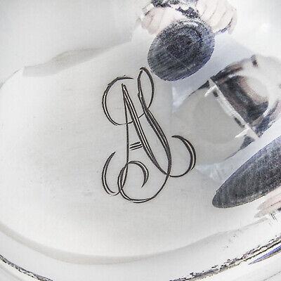 Scroll Rim Trumpet Vase 813 Standard Silver 1954 Finland Mono AS 3