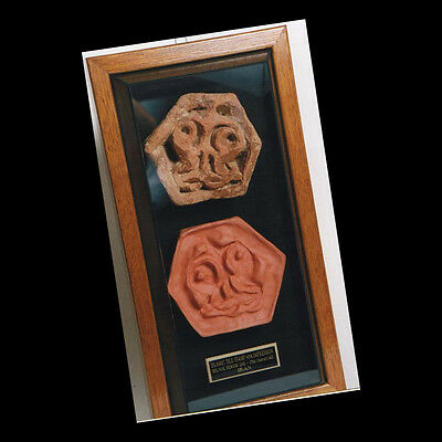 A  tile stamp. 03098 3