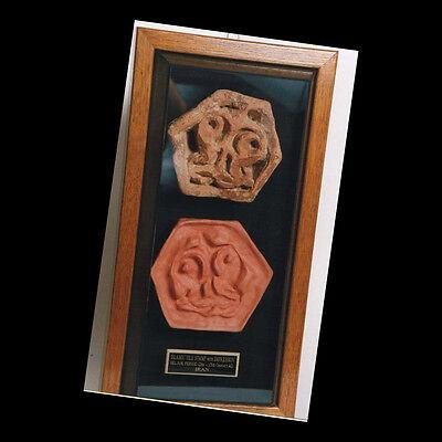 A  tile stamp. 03098 2