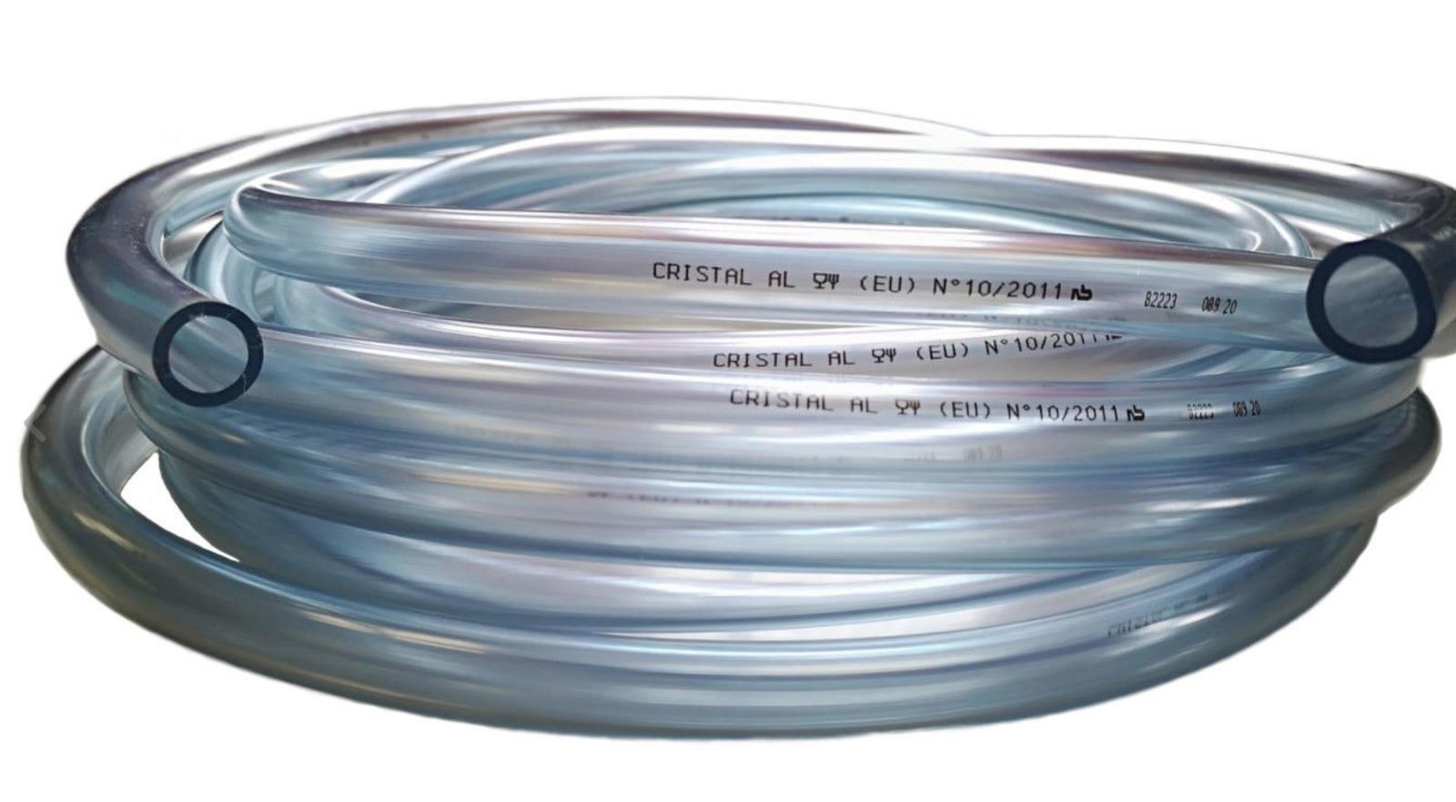 3-19mm PVC Tube Plastique Transparent Tuyau Food Grade Bassin Poisson Voiture