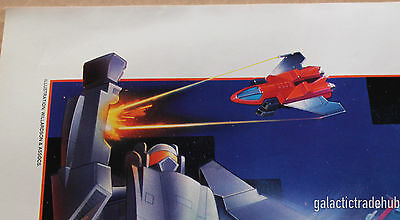 Gobots Nestle Quik Poster 14x19 inch 1980s Super Go Bots Promo Cy-Kill Leader-1