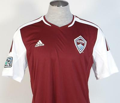 1 of 5FREE Shipping Adidas ClimaCool MLS Colorado Rapids Burgundy Soccer  Jersey Youth Boys NWT 1d5d76cf6