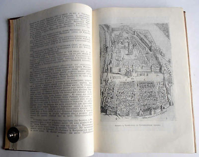 1950/54 P.SYTIN Russia MOSCOW History of Planning & Building Books 2 Volumes 8