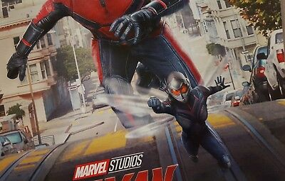 """Marvel Studios ANT-MAN AND THE WASP Official Movie 13"""" x 19""""  IMAX Poster-HTF 3"""
