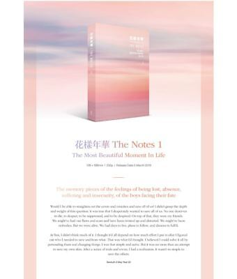[BTS] - 花樣年華 THE NOTES SET(K/E/J) Official Goods From Big Hit Tracking Number 4