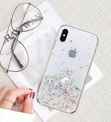 For iPhone 11 Pro XS Max XR X 8 7 Plus Glitter Shockproof Protective Case Cover 8