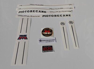 Motobecane Chrome Decal Set sku Moto-S115