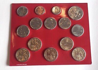 2011 United States Mint Uncirculated Coin Set Denver Philadelphia 28 Coins 2
