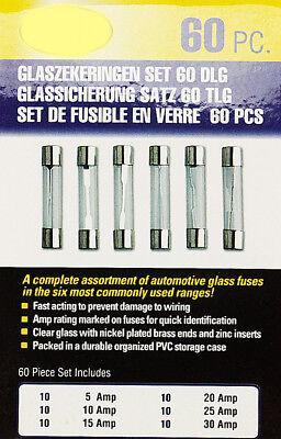 Feinsicherungen 5 – 30 A 60 X Glassicherung Glas Sicherung Sicherungsset Set