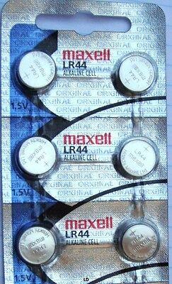 LR44 Maxell (10 piece) LR44 MAXELL A76 L1154 AG13 357 New Alkaline Battery 2