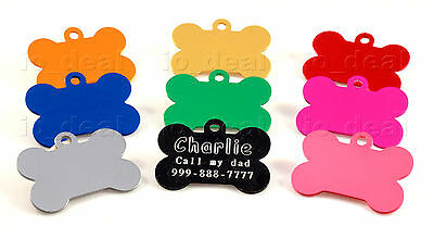 MADE IN USA Pet Tags Custom Engraved Paw ID Tag Dog Tag Cat Quality Free Ship 3