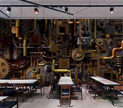 Industrial Revolution 3D Full Wall Mural Photo Wallpaper Print Home Kids Decor