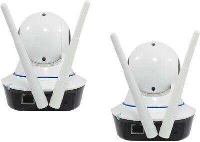 KIT 2 Telecamere IP CAMERA wi-fi HD 720p motorizzata infrarossi con app YOOSEE 4