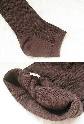 Women Winter Cable Knit Sweater Footed Tights Warm Stretch Stockings Pantyhose j 12