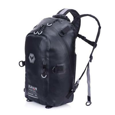 Motorcycle Helmet Backpack Waterproof Magnetic Bag Fuel Tank Touring Moto Travel