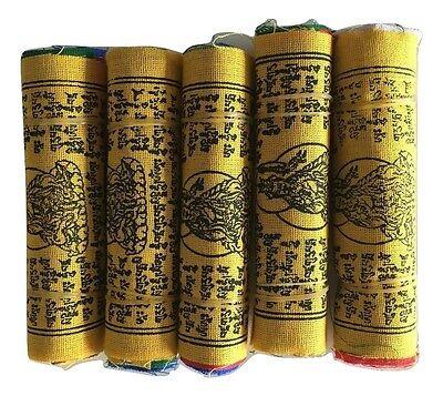 Tibetan Prayer Flags 10 Flags/Colours/5 Mantras-11 x 9 cm Peace & Good Will 3