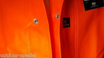 buy popular 31d7a 73e94 HELLY HANSEN WORKWEAR Fischerei Regenjacke Gr. XL Arbeitskleidung ORANGE  Herren