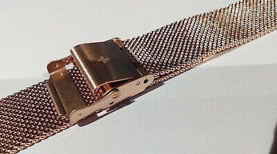 Bracelet de Montre Maille Milanaise 18 mm Couleur Argent - Marque AIGHT - Mesh 5