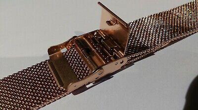 Bracelet de Montre Maille Milanaise 18 mm Couleur Argent - Marque AIGHT - Mesh 6