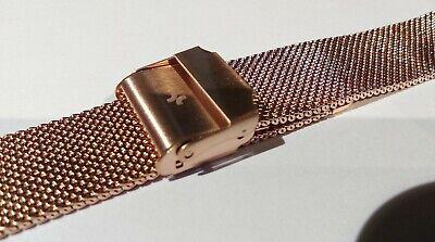 Bracelet de Montre Maille Milanaise 18 mm Couleur Argent - Marque AIGHT - Mesh 4