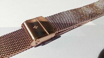 Bracelet de Montre Maille Milanaise 18 mm Couleur Argent - Marque AIGHT - Mesh 3