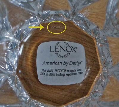 "12/"" Genuine Lenox 12 in Harlequin Crystal Vase NIB BRAND NEW!"