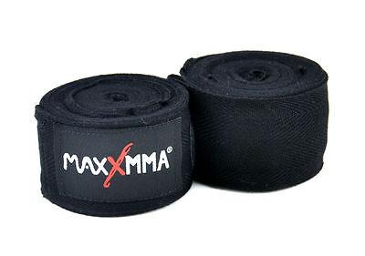 "MaxxMMA Bamboo Hand Wraps 120/"" Boxing Punching MMA Zebra Pink"