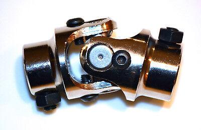 3//4/'/' Round X 13//16/'/'-36 Steel Steering Shaft Universal U-Joint Black BPS-3030