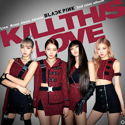 US SHIPPING Blackpink [Kill This Love] Album Random CD+2p Poster+Book+etc+Gift 9