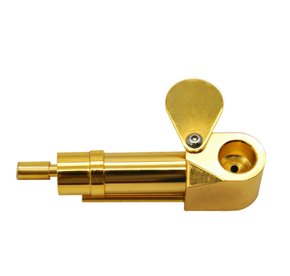 Deluxe Proto Pipe Original Solid Brass Made Tobacco Smoking Pipe Easy Cleaning 3