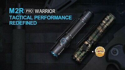 Olight M2R PRO Warrior LIMITED Edition Camo Flashlight w/Remote Switch & Mount 2
