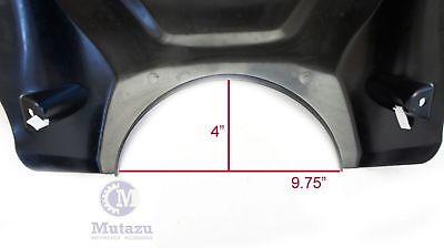 Mutazu Hardware Mounting Brackets Set for Universal Motorcycle Batwing Fairing